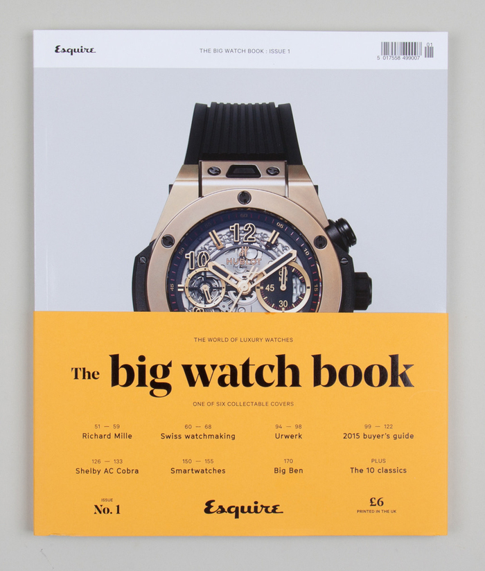 Esquire's Big Watch Book, issue 1 2