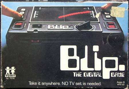 Tomy Blip / World Tennis / Blip-o-mat 1