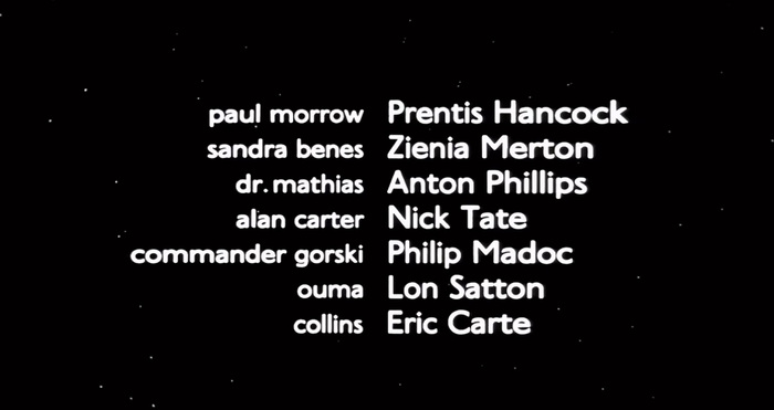 Granby in use for the closing credits.