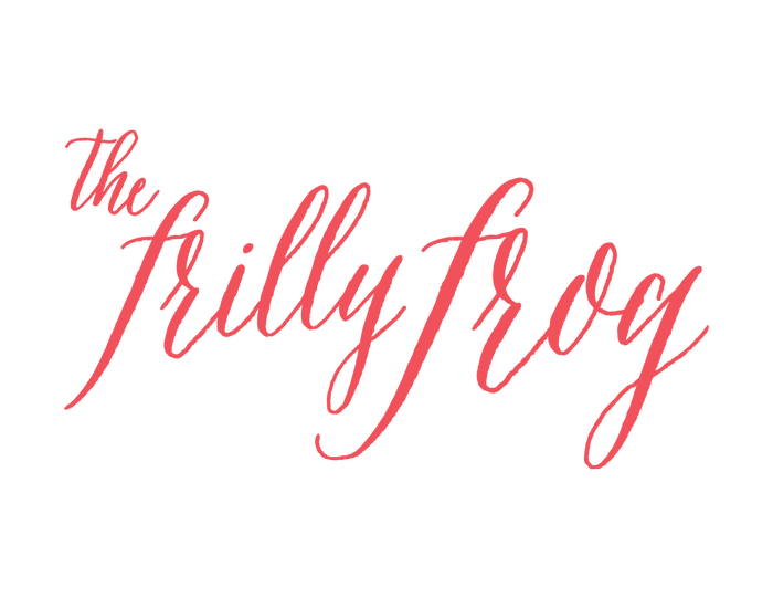 The Frilly Frog identity 2