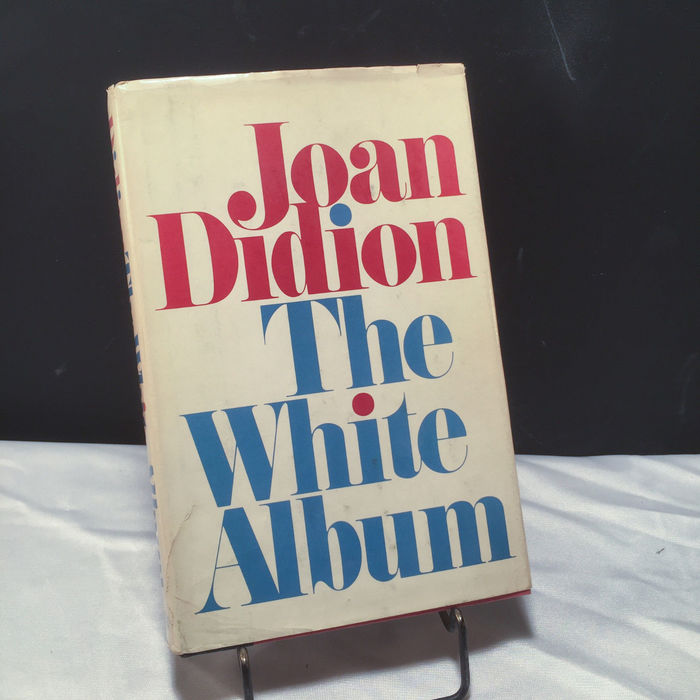 The White Album by Joan Didion, first edition 2