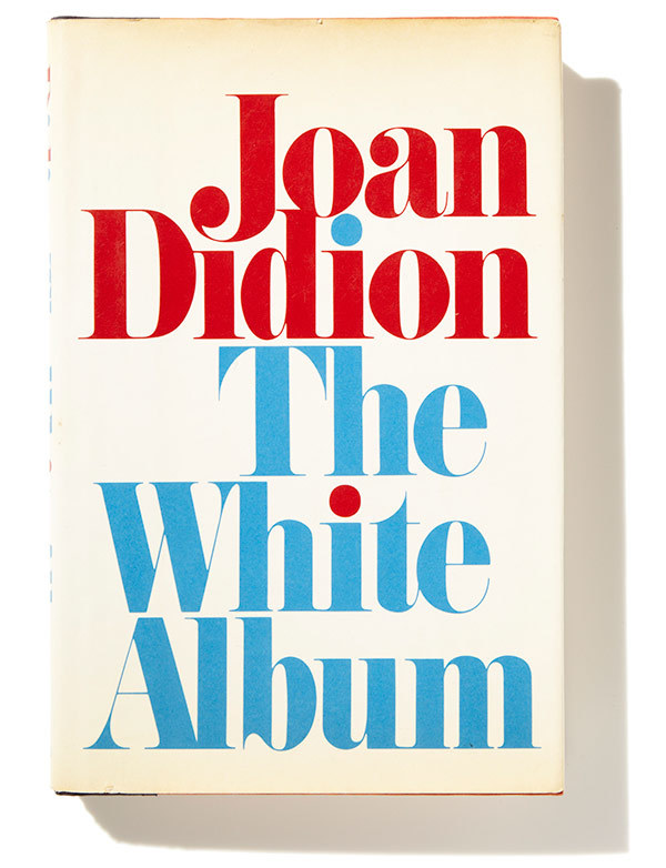 The White Album by Joan Didion, first edition 1