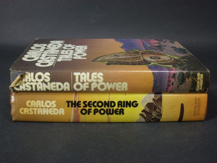 Tales of Power and The Second Ring of Power by Carlos Castaneda (Simon and Schuster) 4