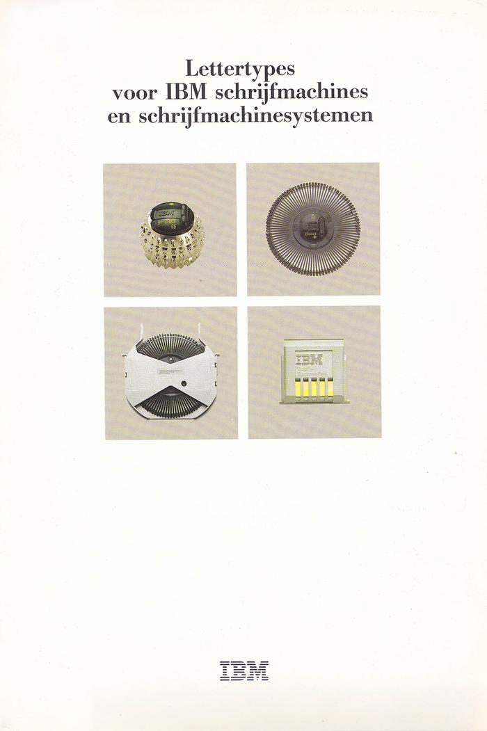 IBM Typewriter ads (Netherlands, 1980s) 1