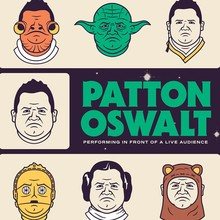 Patton Oswalt at the Majestic Theatre poster