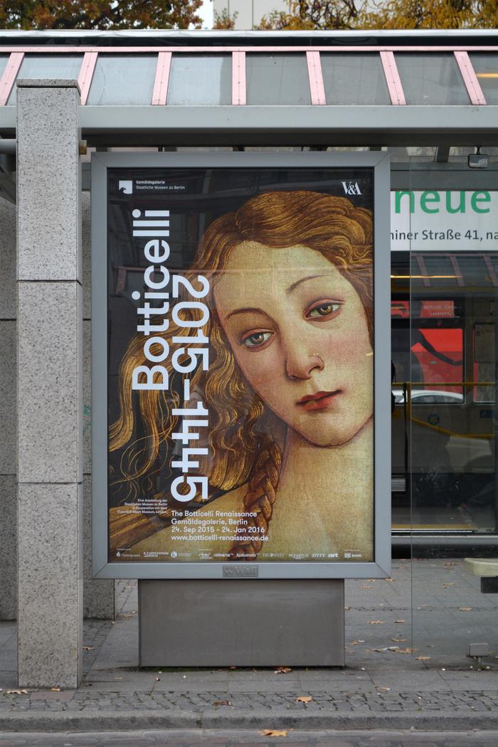 Detail from Sandro Botticelli's Venus, 1490 © Staatliche Museen zu Berlin / Jörg P. Anders