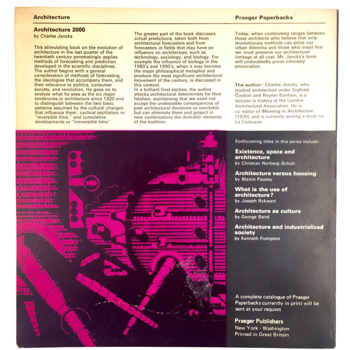 Architecture 2000: Predictions and Methods 3