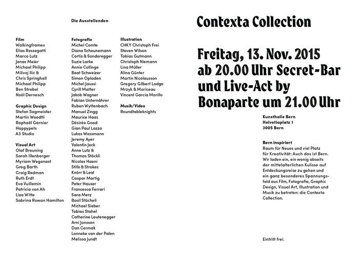 Contexta Collection: Secret 9