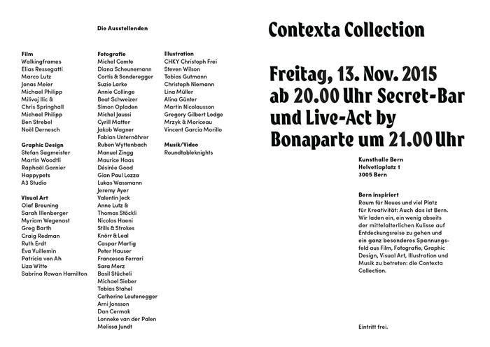 Contexta Collection: Secret 11