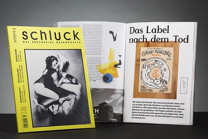 Schluck Magazine 1