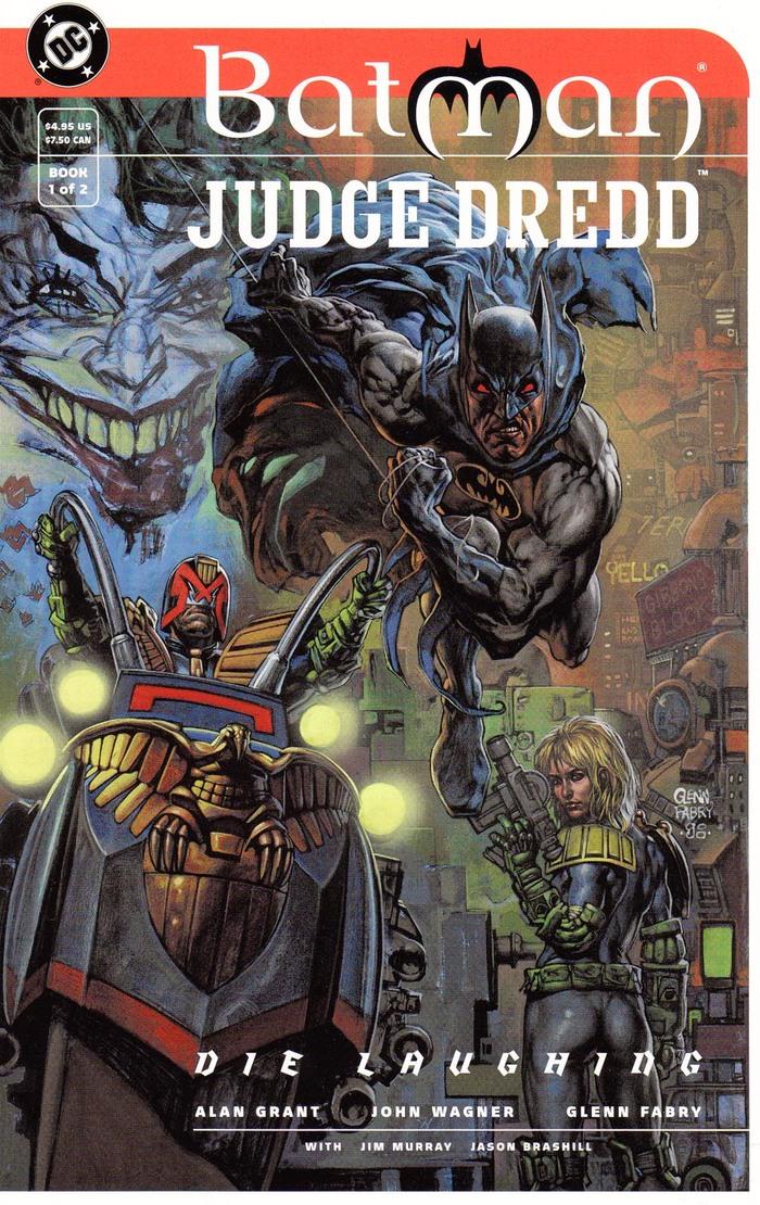 Batman and Judge Dredd: Die Laughing 1