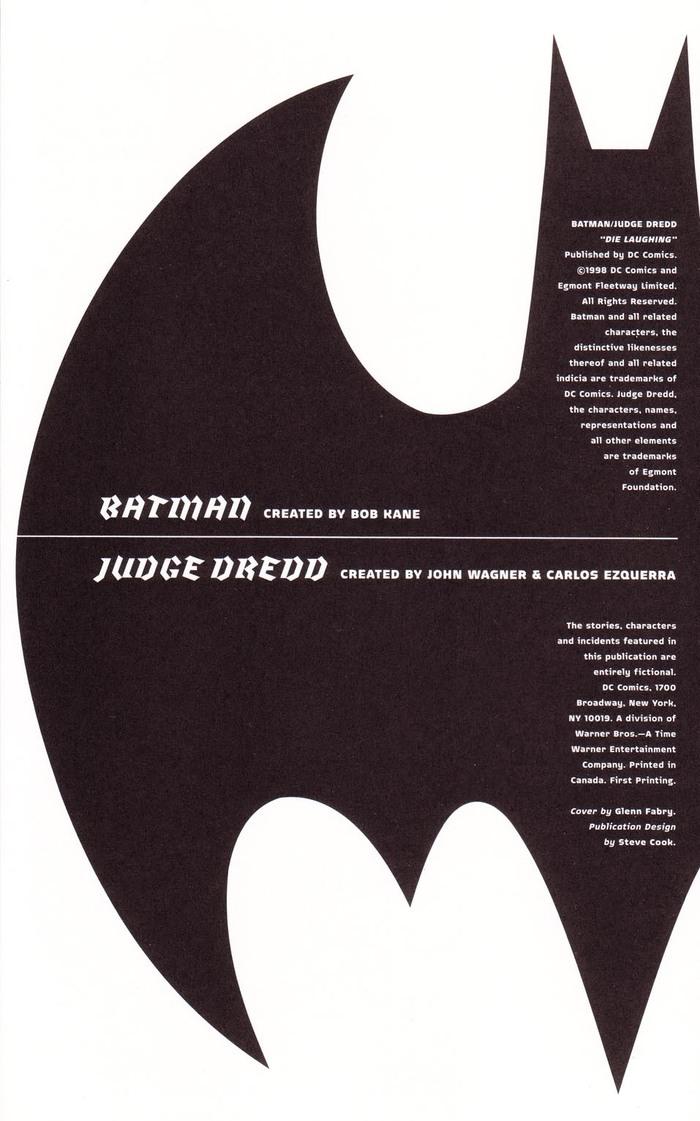 Batman and Judge Dredd: Die Laughing 2