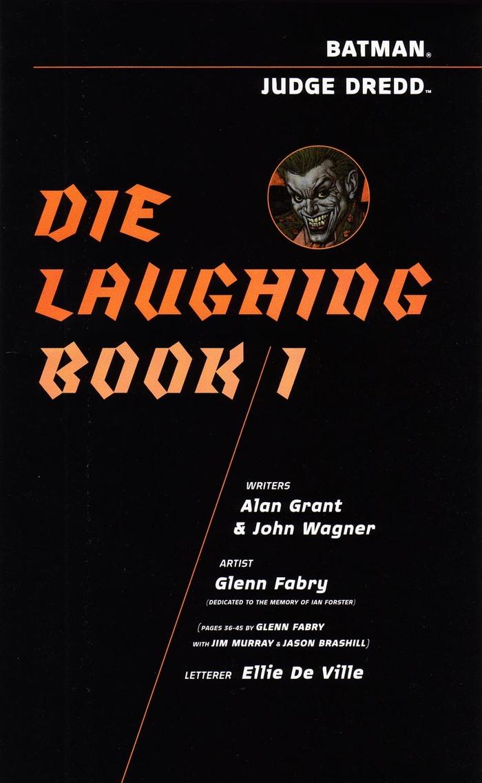 Batman and Judge Dredd: Die Laughing 3
