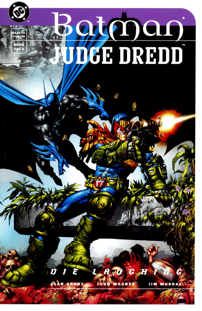 Batman and Judge Dredd: Die Laughing 4
