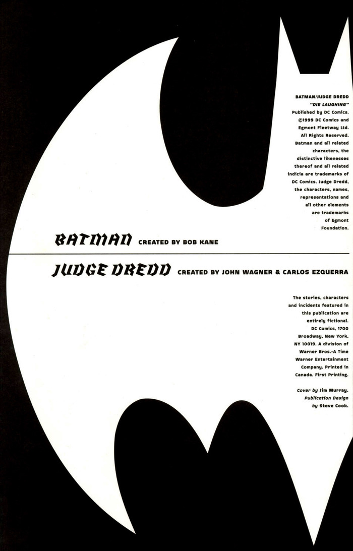 Batman and Judge Dredd: Die Laughing 5