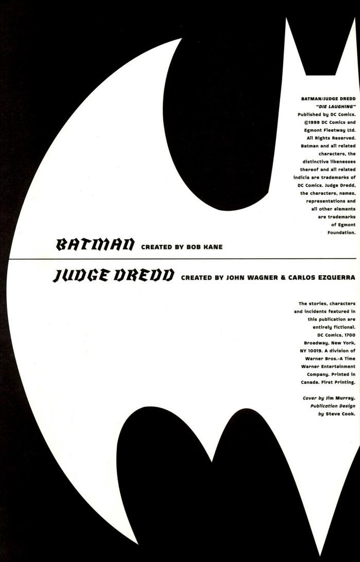 Batman and Judge Dredd: Die Laughing 5