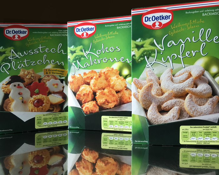 Dr. Oetker Christmas Edition 2