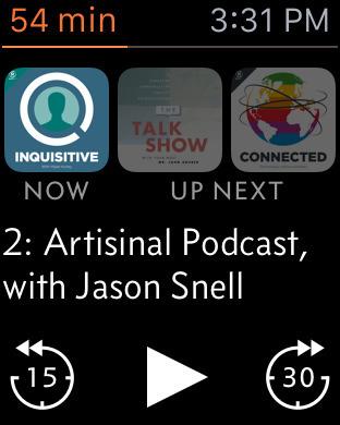 Overcast podcast app 6