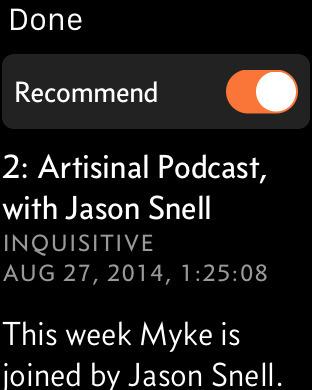 Overcast podcast app 7