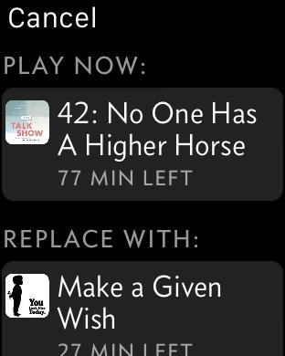Overcast podcast app 8