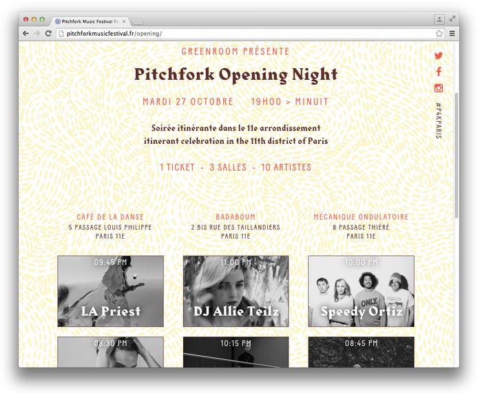 Pitchfork Music Festival Paris 2015 4