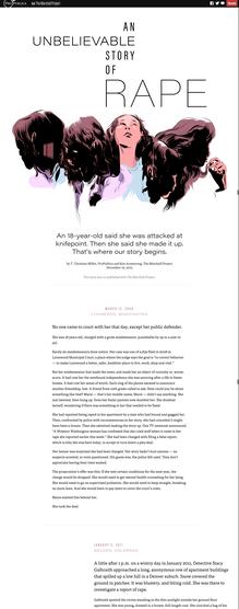 <cite>An Unbelievable Story of Rape</cite>