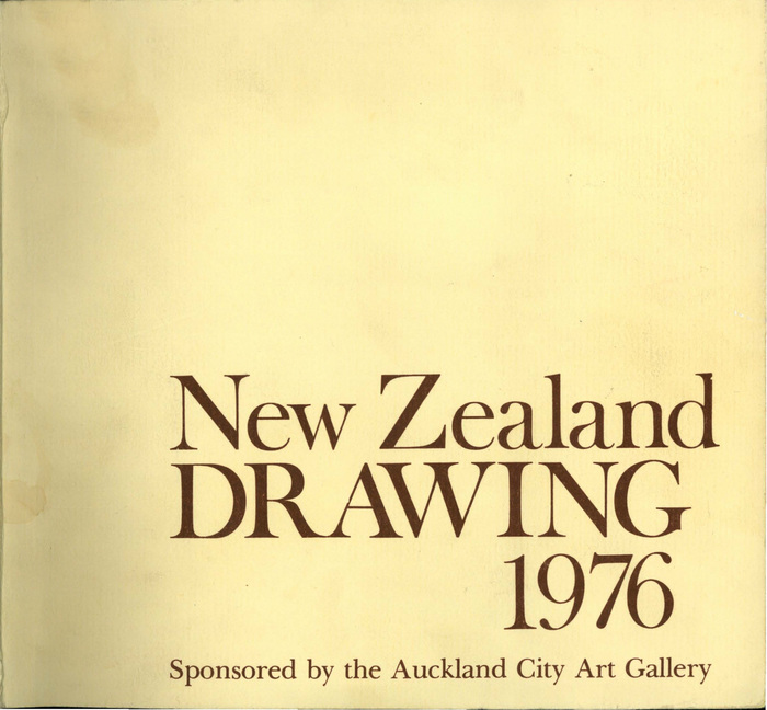 New Zealand drawing 1976. Designed by Ross Ritchie.