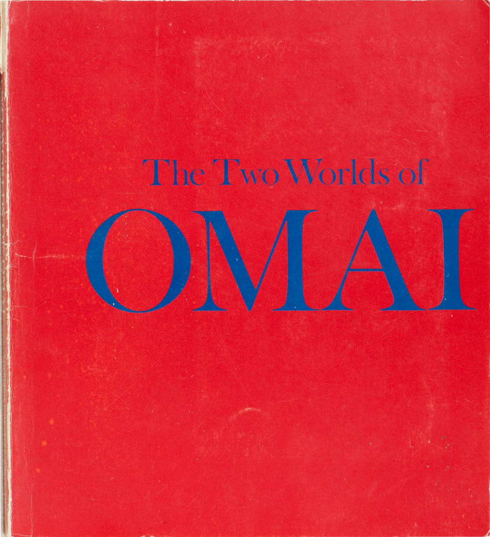 The two worlds of Omai, 1977. Designed by Ross Ritchie.