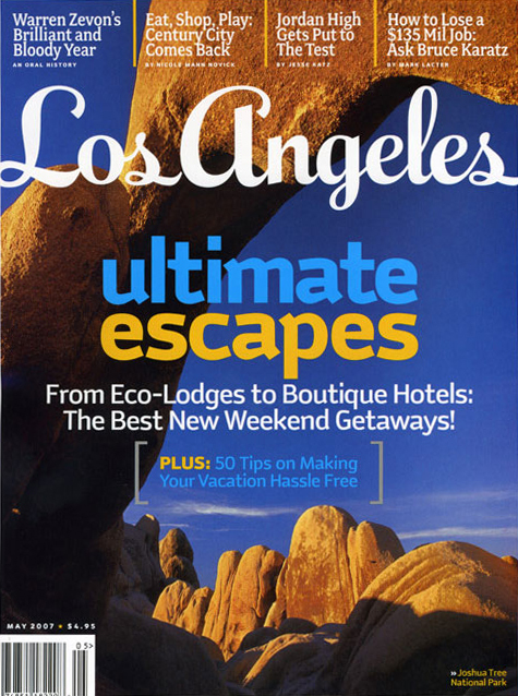 Los Angeles magazine 2007–2008 6