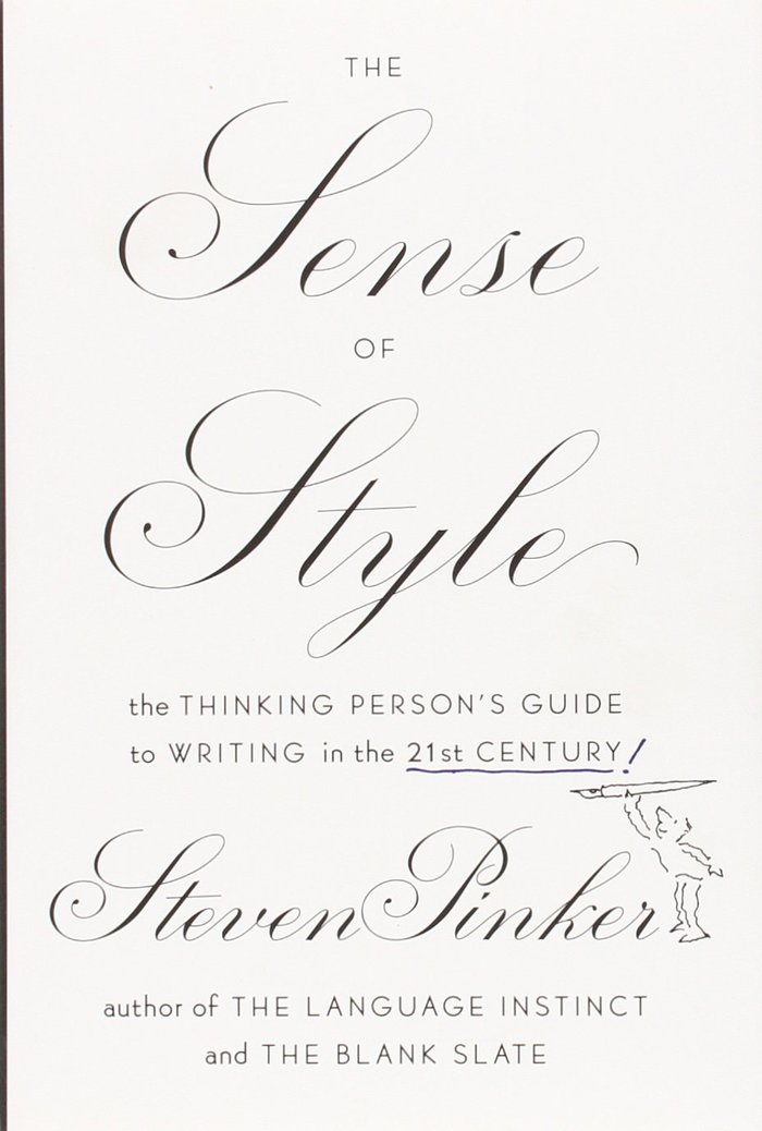 The Sense of Style by Steven Pinker 1