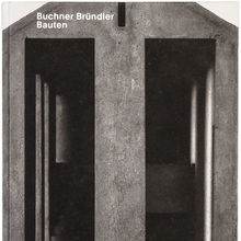 <cite>Buchner Bründler Bauten</cite>