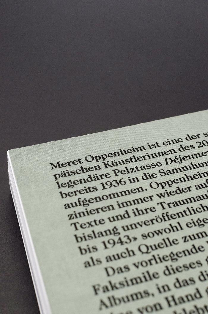 Meret Oppenheim. Worte nicht in giftige Buchstaben einwickeln 2