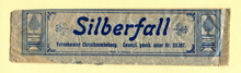 """Silberfall"" christmas tree tinsel"