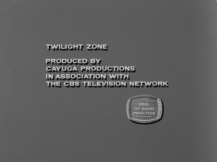 The Twilight Zone episode credits and title cards 10