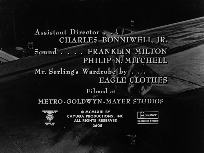 The Twilight Zone episode credits and title cards 9