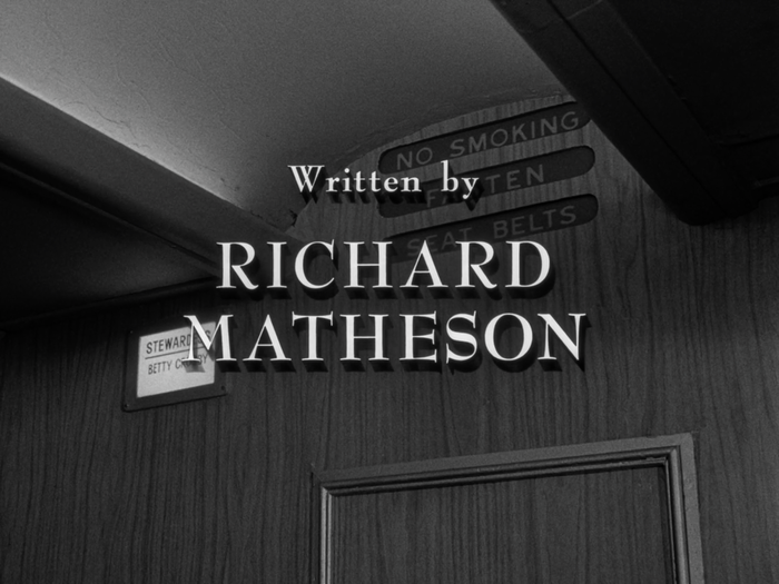 The Twilight Zone episode credits and title cards 3