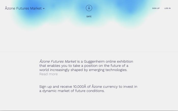 Åzone Futures Market – Guggenheim Museum 2