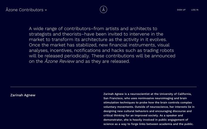 Åzone Futures Market – Guggenheim Museum 4