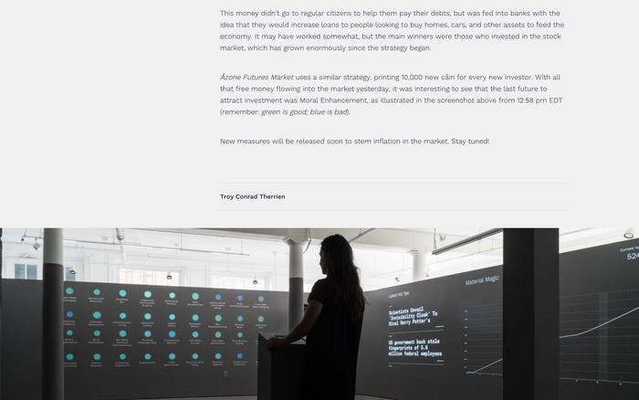 Åzone Futures Market – Guggenheim Museum 9