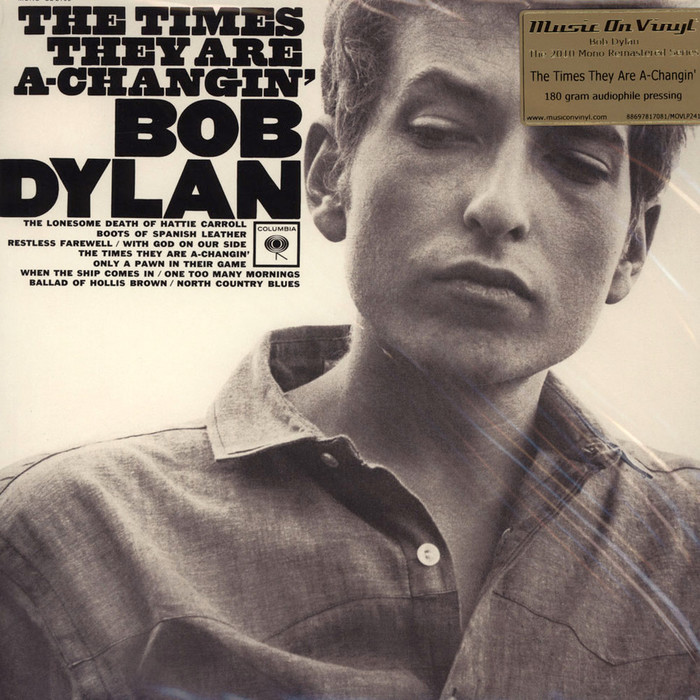 The Times They Are A-changin' by Bob Dylan 2