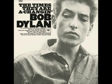Bob Dylan – <cite>The Times They Are A-changin'</cite> album art