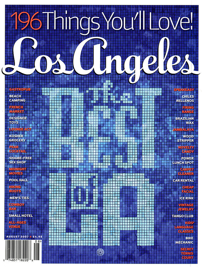 Los Angeles magazine 2007–2008 3