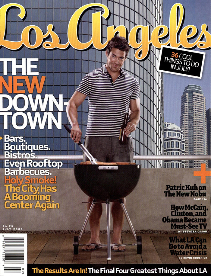 Los Angeles magazine 2007–2008 2