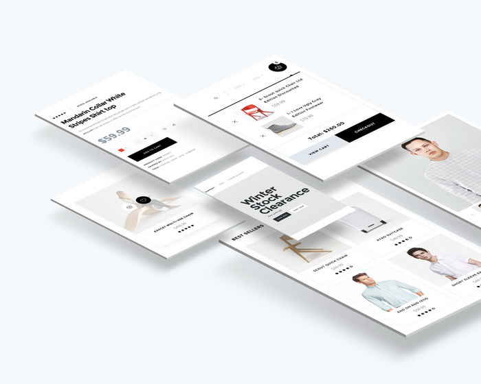 Shop Page elements