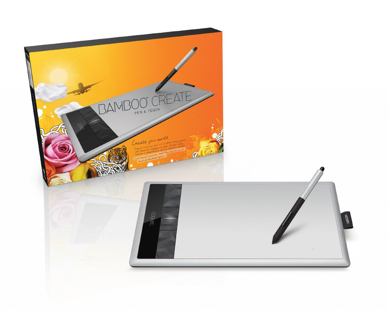 Wacom Bamboo tablet - Fonts In Use