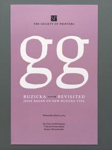"Jesse Ragan – ""Ruzicka Revisited"" invitation"