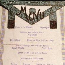 Freemasons menu