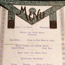 Freemasons menu