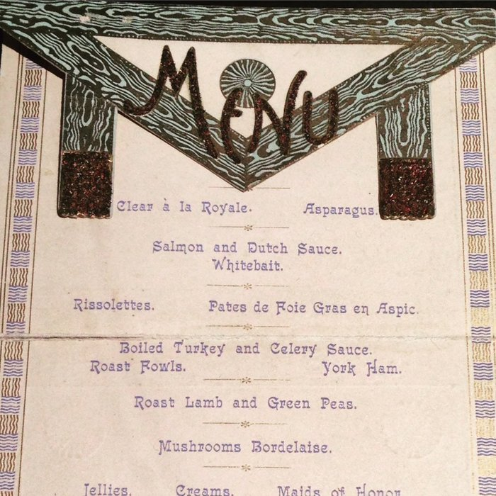 Freemasons menu 1