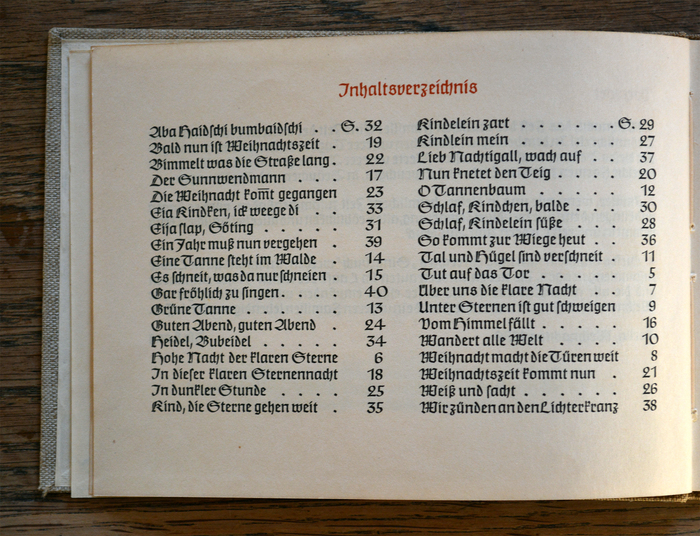 The table of contents reveals that the numerals in Claudius are not tabular.